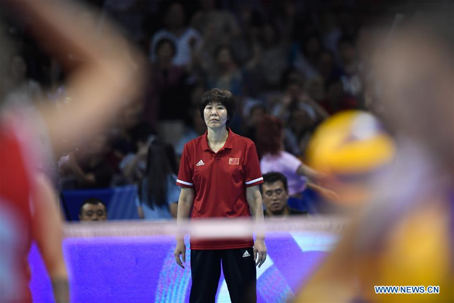 (SP)CHINA-NINGBO-FIVB-TOKYO VOLLEYBALL QUALIFICATION-CHINA-TURKEY(CN)