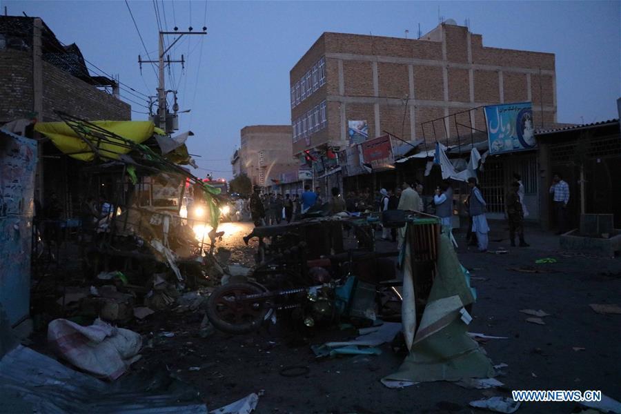 AFGHANISTAN-HERAT-BOMB BLAST