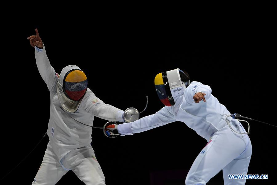 (SP)PERU-LIMA-PAN AMERICAN GAMES 2019-FENCING-MEN'S INDIVIDUAL EPEE FINAL