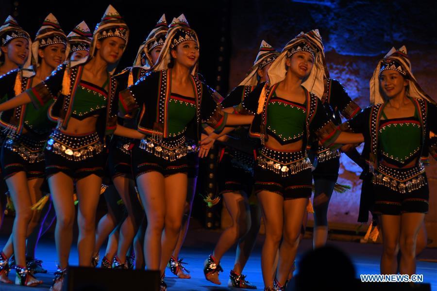 TUNISIA-TUNIS-CARTHAGE INTERNATIONAL FESTIVAL-CHINA-PERFORMANCE