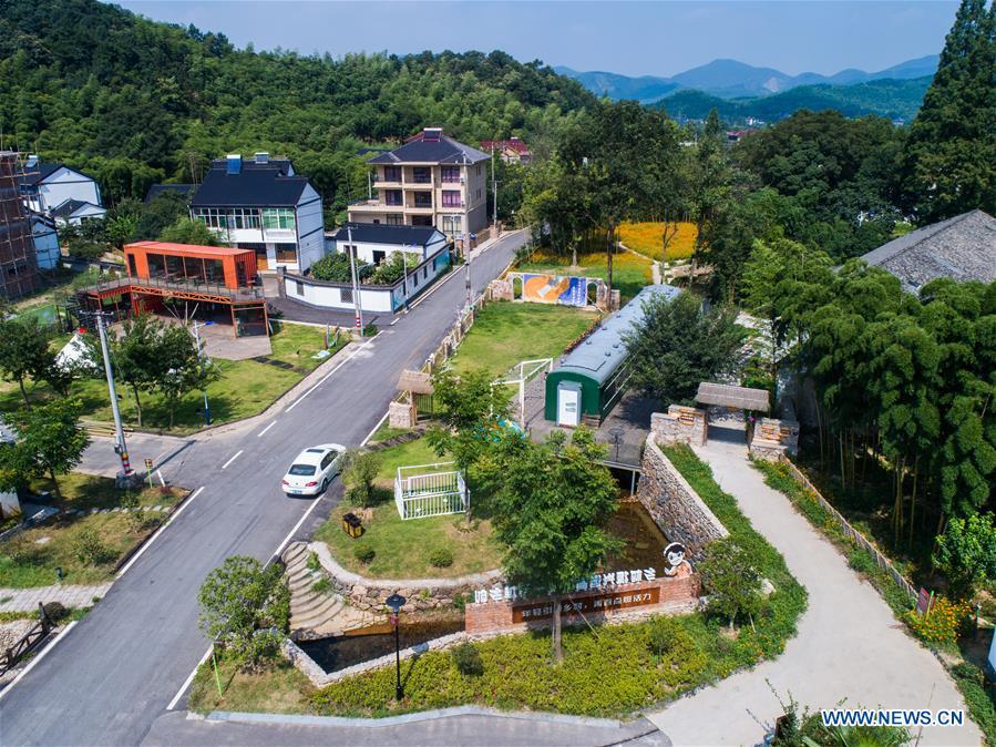 CHINA-ZHEJIANG-HUZHOU-ECOLOGICAL TOURISM (CN)