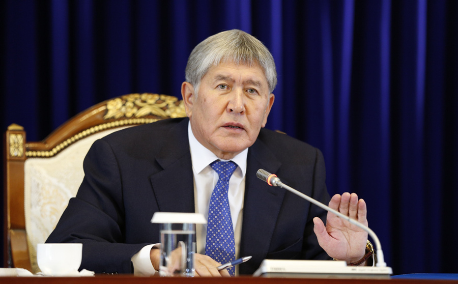 Kyrgyz special forces conduct operation to detain former president - Xinhua | English.news.cn