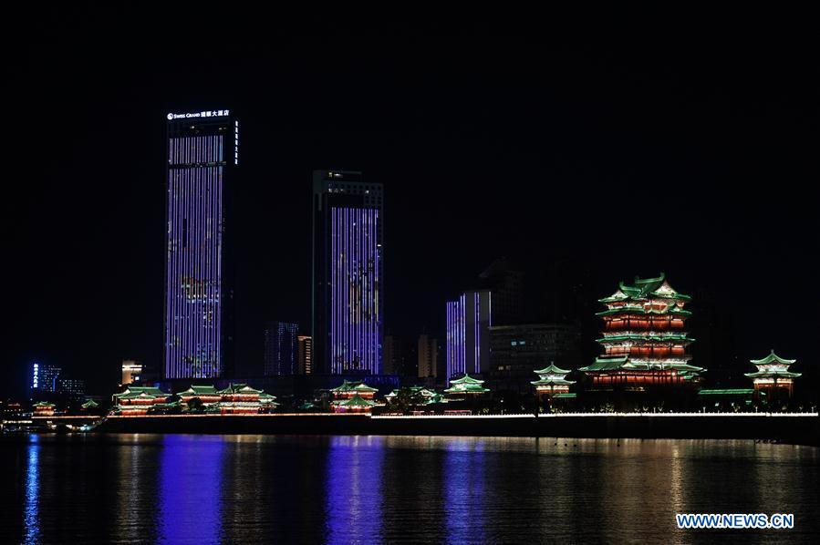 CHINA-JIANGXI-NANCHANG-NIGHT VIEW (CN)