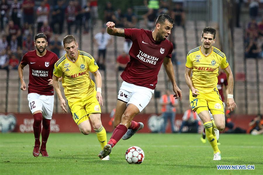 (SP)BOSNIA和HERZEGOVINA-ZENICA-FOOTBALL-UEFA EUROPA LEAGUE-SARAJEVO VS BATE