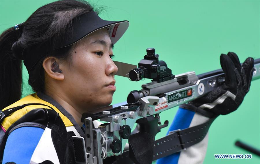 (SP)中国 - 太原 - 第二届青年比赛 - 射击妇女 - 女子50米第三名(CN)