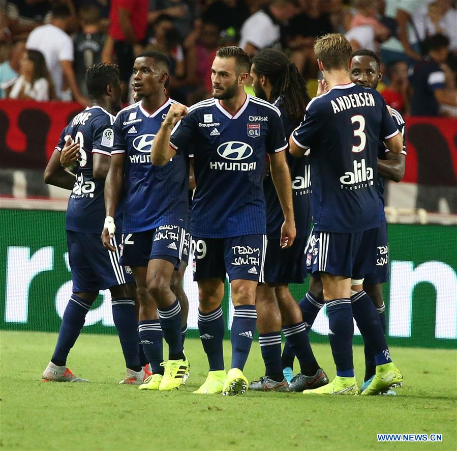 French League 1 soccer match: AS Monaco vs  Olympique
