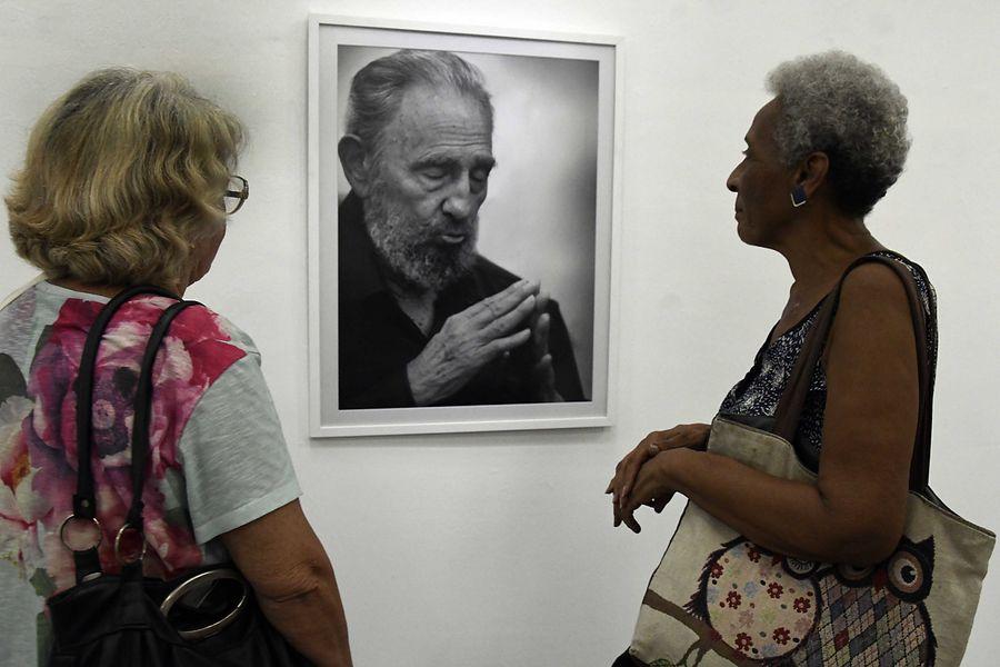 Photo expo in Cuba kicks off celebrations for Fidel Castro's 93rd birthday - Xinhua | English.news.cn