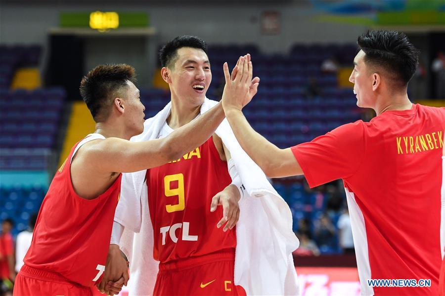 (SP)中国 - 昆山 - 国际男子篮球队CHANLLENGE-CHINA VS ANGOLA(CN)
