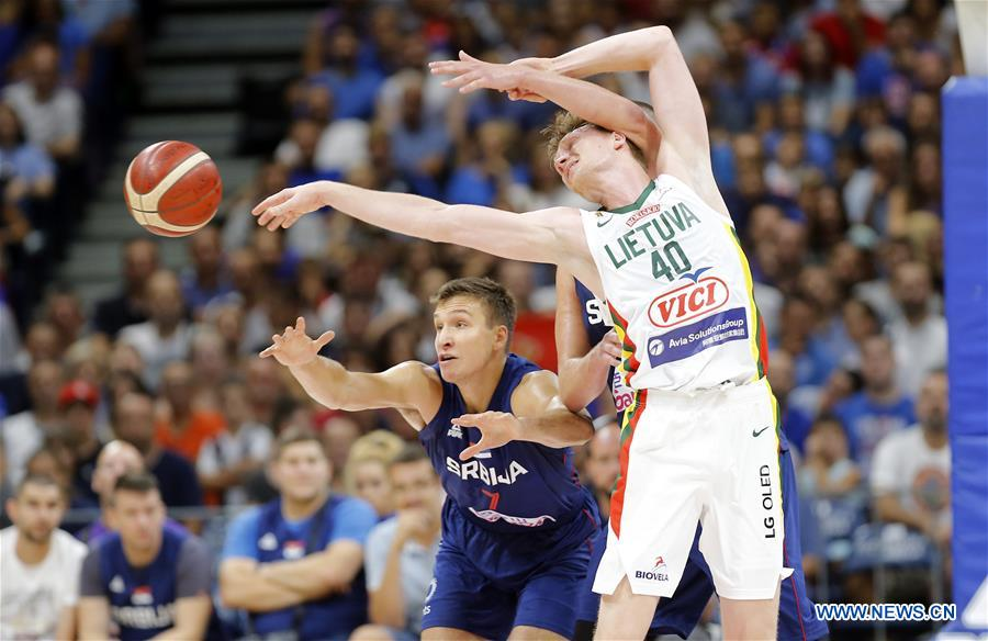 Serbia outplay Lithuania 72-68 in basketball friendly