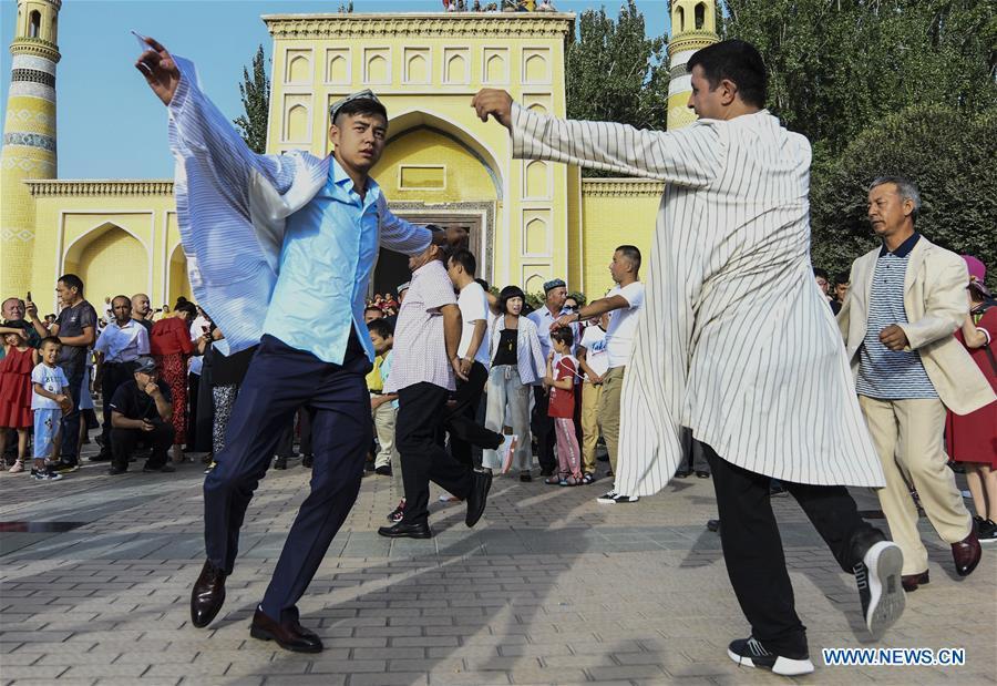 CHINA-XINJIANG-KASHGAR-CORBAN FESTIVAL (CN)