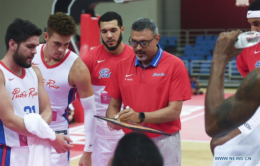 International Men's Basketball Challenge: Puerto Rico vs  Angola