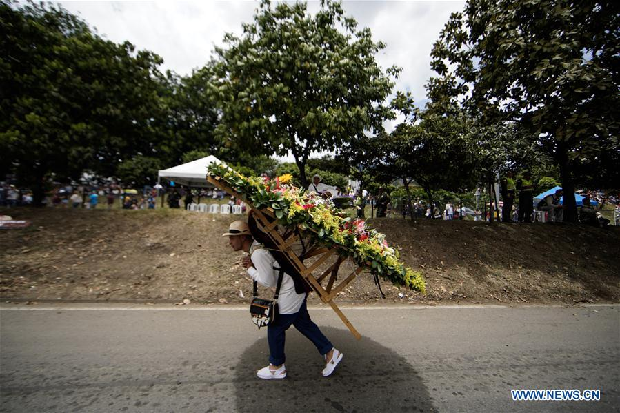 COLOMBIA-ANTIOQUIA-FLOWER FESTIVAL