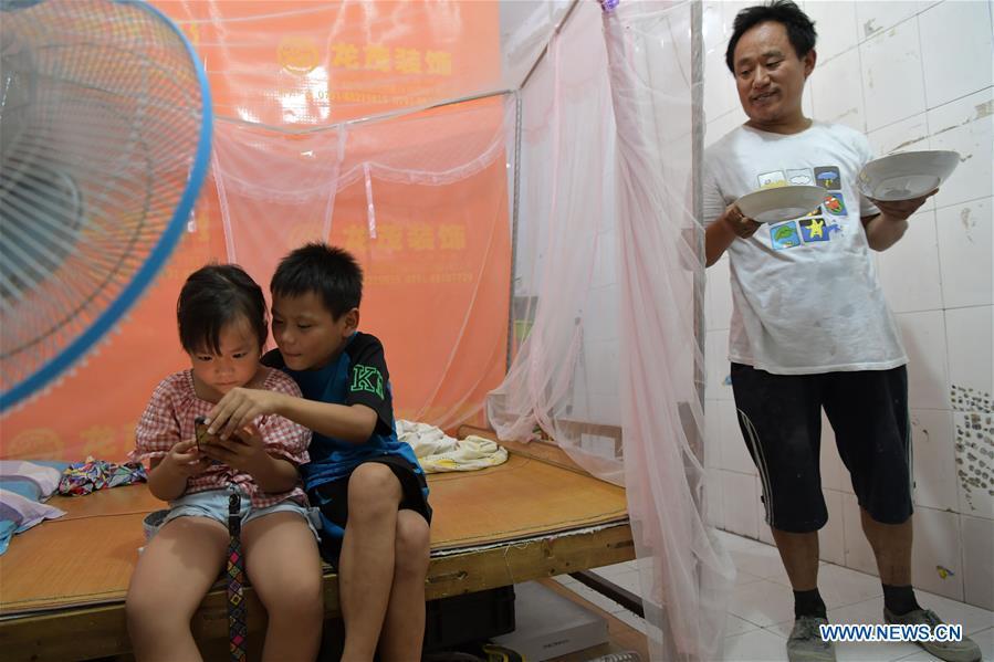 CHINA-JIANGXI-NANCHANG-MIGRANT WORKER-CHILDREN-SUMMER VACATION (CN)