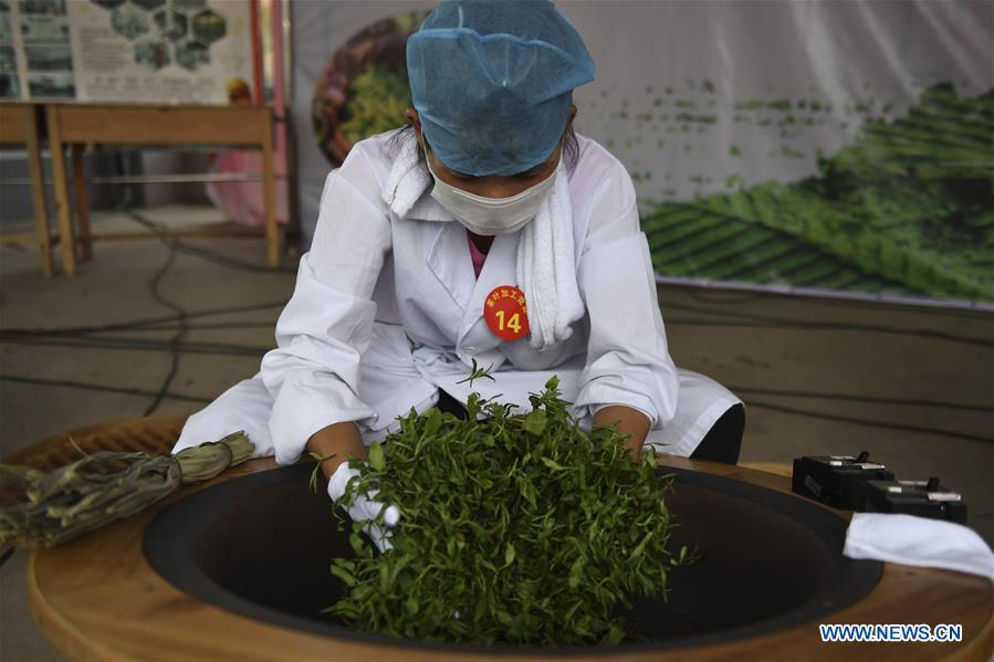 CHINA-GUANGXI-YULIN-STIR-FRYING-TEA-SKILL COMPETITION (CN)
