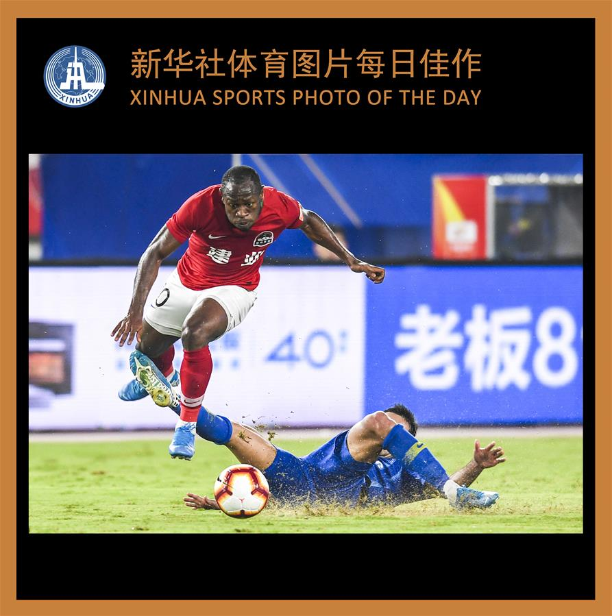 (SP)XINHUA SPORTS PHOTO OF THE DAY