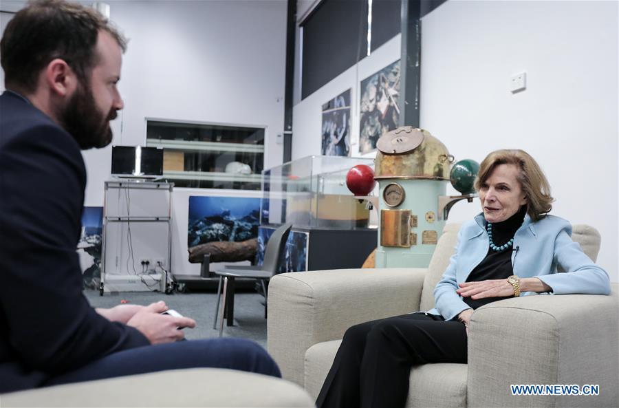 AUSTRALIA-SYDNEY-INTERVIEW-OCEAN PROTECTION