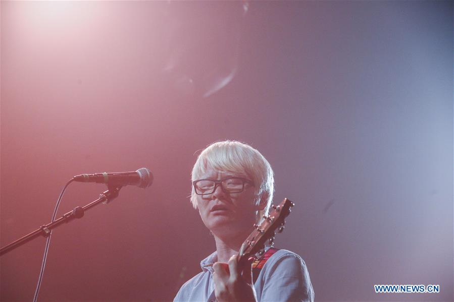 CHINA-BEIJING-RARE DISEASE-BAND-FIRST ALBUM-PERFORMANCE (CN)