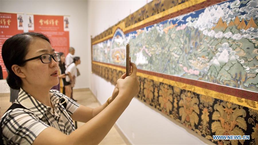 CHINA-BEIJING-NAMOC-TIBETAN ART-EXHIBITION (CN)