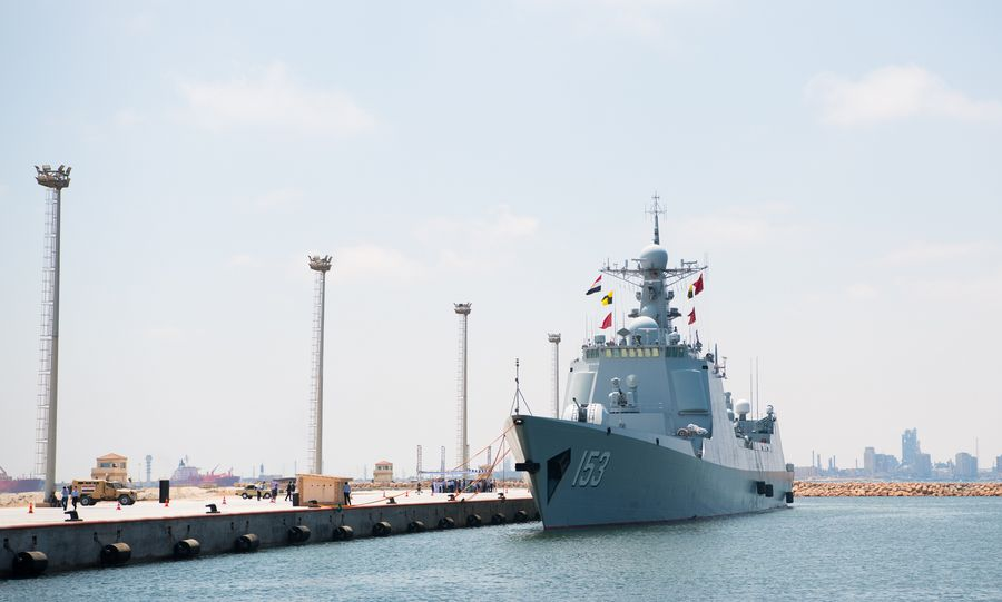 "Chinese missile destroyer ""Xi'an"" makes technical stop in Egypt's Alexandria - Xinhua 