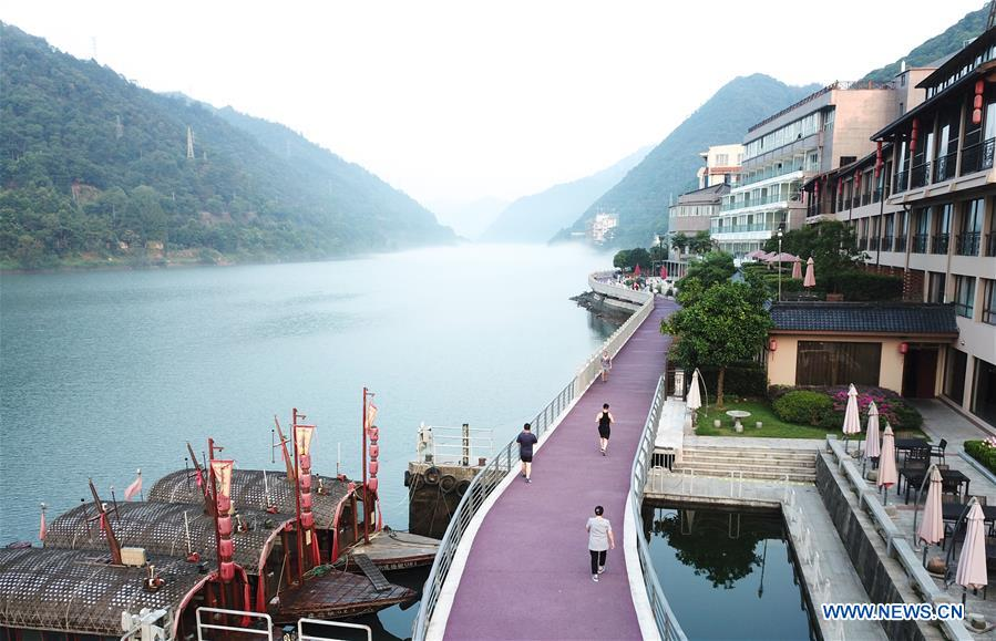 Image result for Xin'anjiang River Hydropower Station in Jiande City, China's Zhejiang