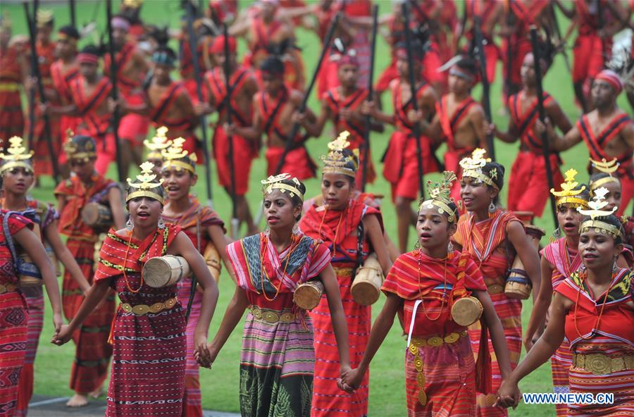 Image result for 74th Independence Day of Indonesia marked in Jakarta