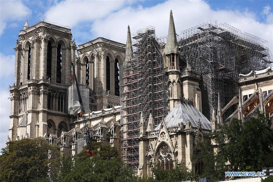 FRANCE-PARIS-NOTRE DAME CATHEDRAL-REPAIRS
