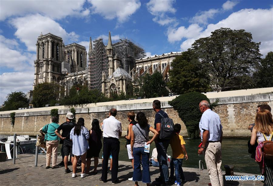 FRANCE-PARIS-NOTRE DAME CATHEDRAL-REPAIRS