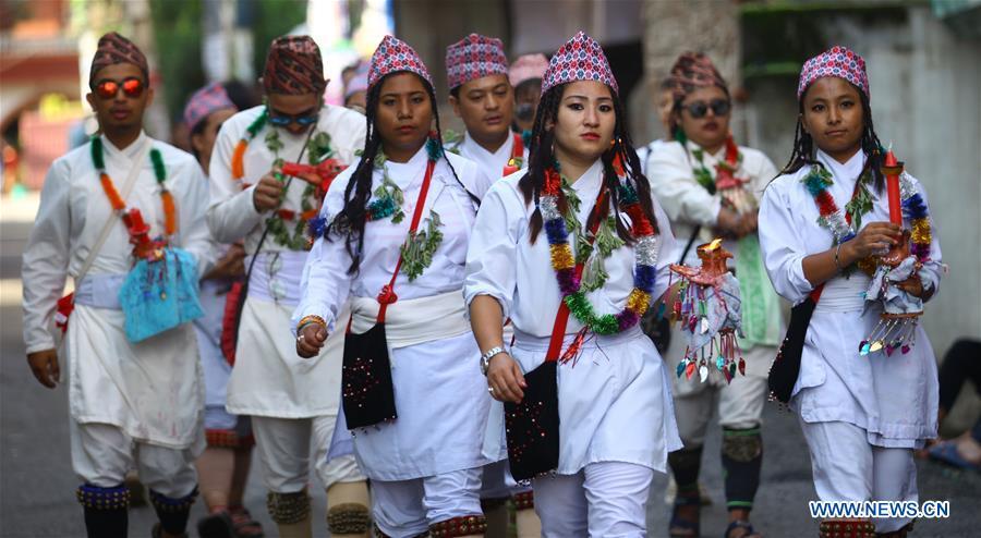 NEPAL-LALITPUR-CULTURE-MATAYA FESTIVAL