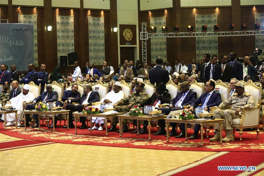 SUDAN-KHARTOUM-TRANSITIONAL PERIOD DOCUMENTS-SIGNING