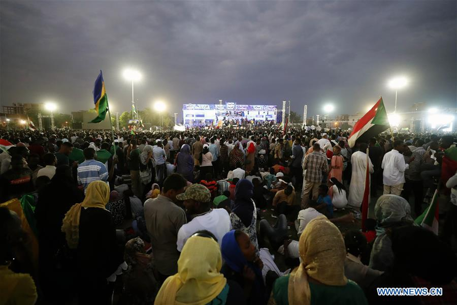SUDAN-KHARTOUM-TRANSITIONAL PERIOD DOCUMENTS-SIGNING-CELEBRATION