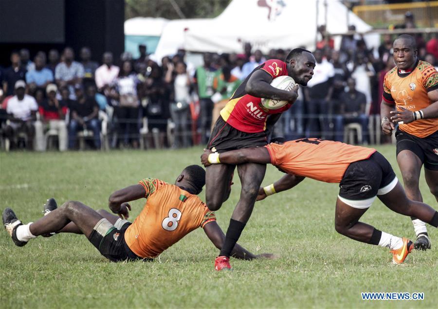 (SP)UGANDA-KAMPALA-2019 VICTORIA CUP-RUGBY MATCH
