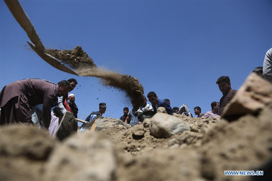 AFGHANISTAN-KABUL-SUICIDE ATTACK-FUNERAL CEREMONY