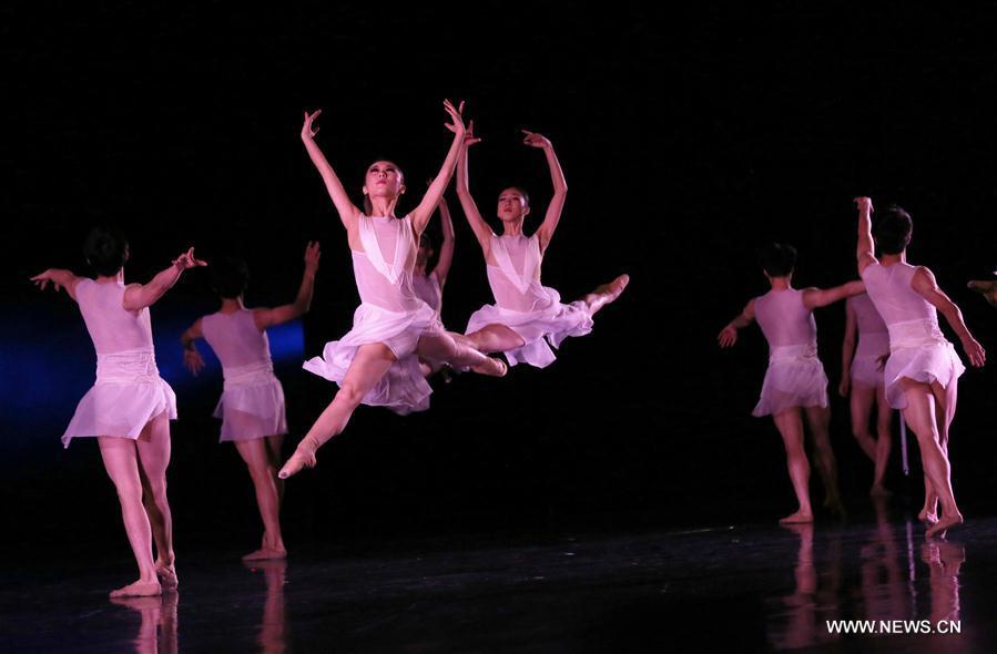 U.S.-NEW YORK-CHINA-BALLET