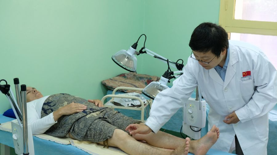 Chinese medical team works to benefit Moroccan patients - Xinhua | English.news.cn