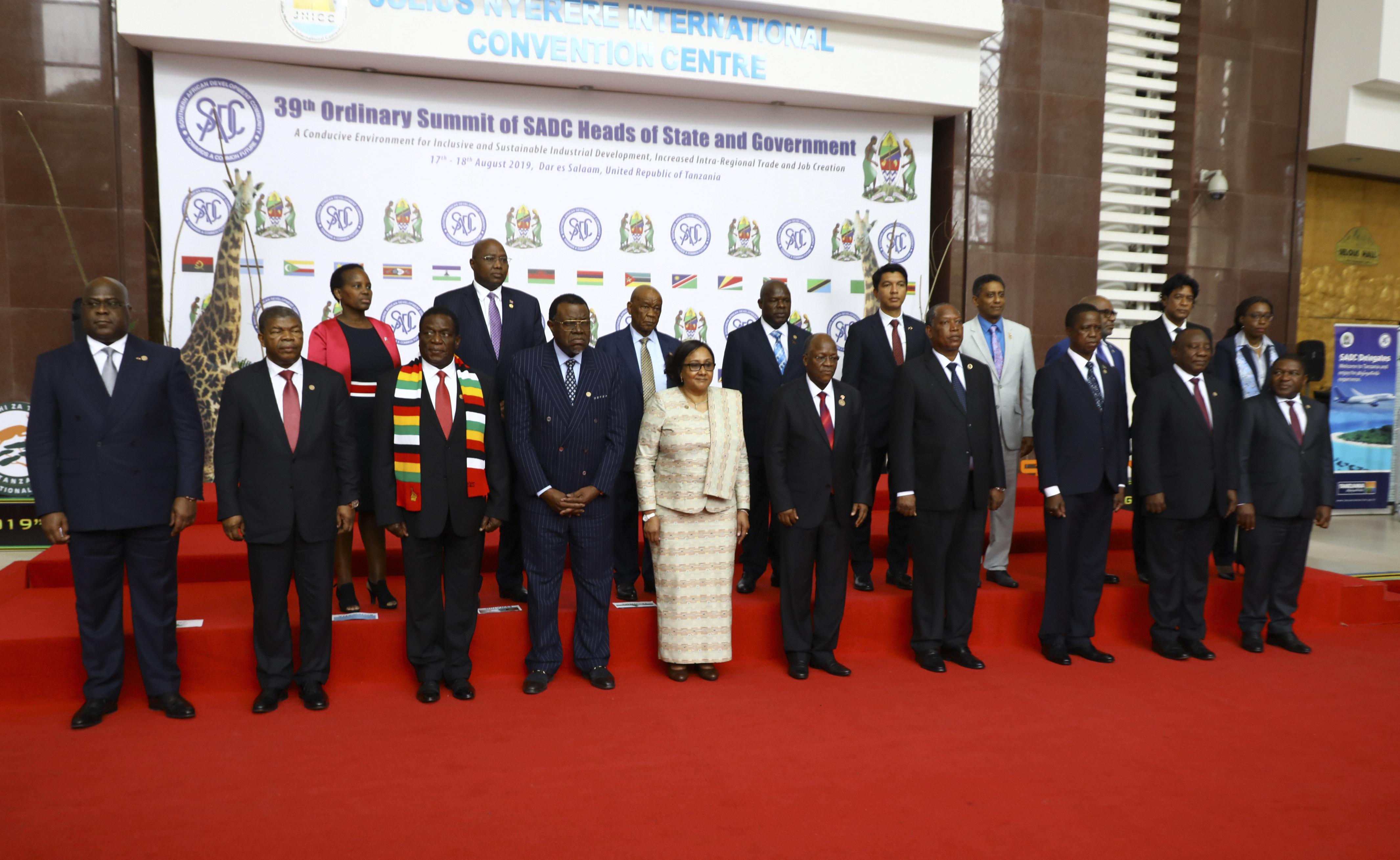 SADC leaders agree to address rising security threats - Xinhua   English.news.cn