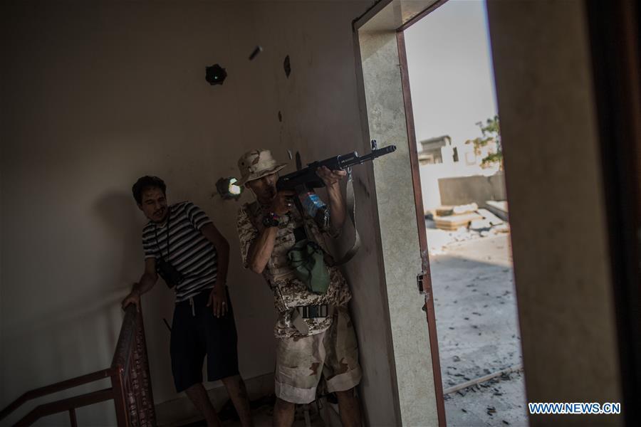 LIBYA-TRIPOLI-CONFLICT