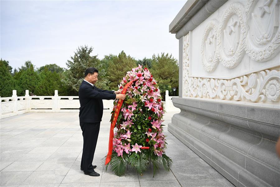CHINA-GANSU-XI JINPING-MEMORIAL SITE (CN)