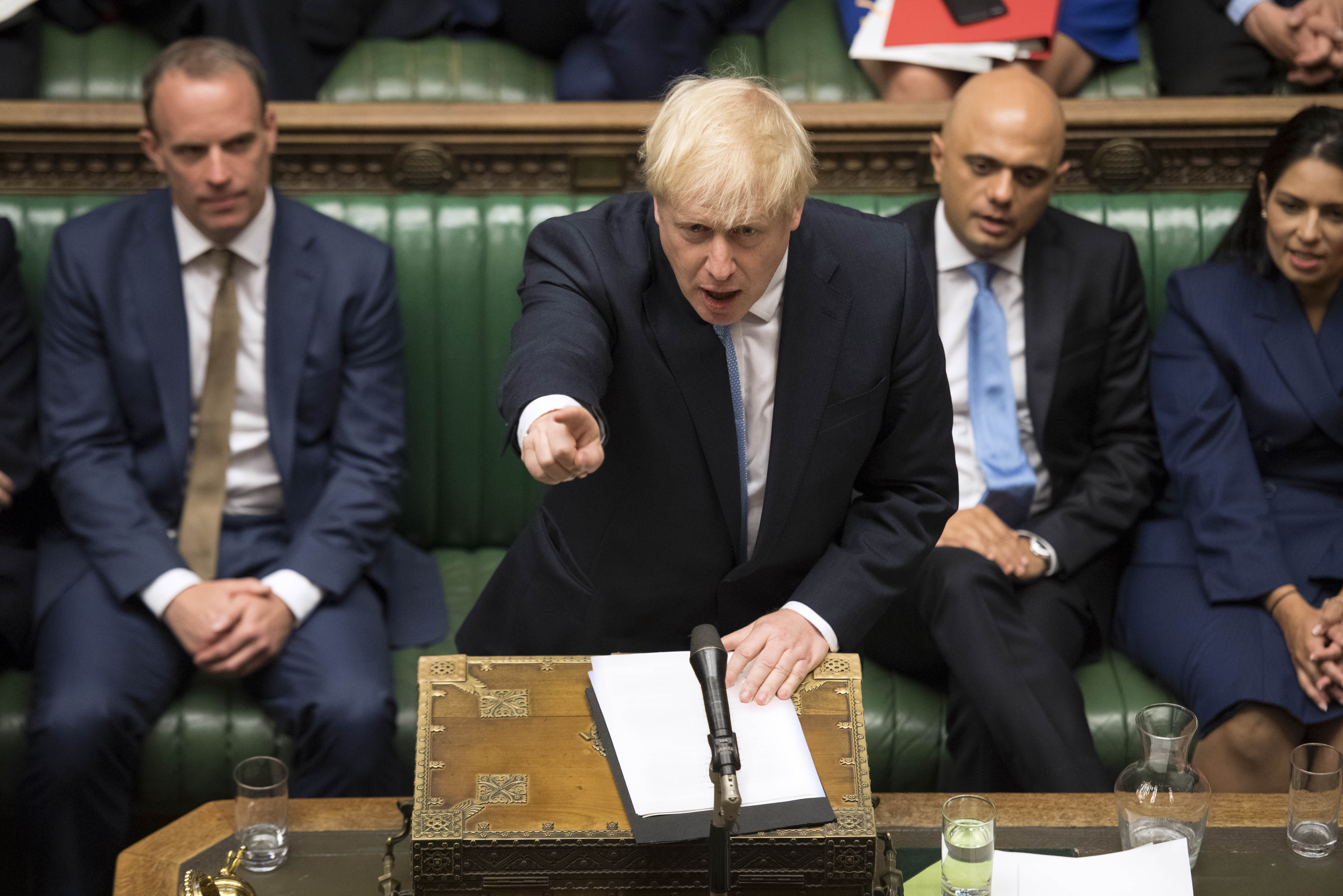 War of words! London, Brussels clash over PM Johnson's Brexit demands - Xinhua | English.news.cn