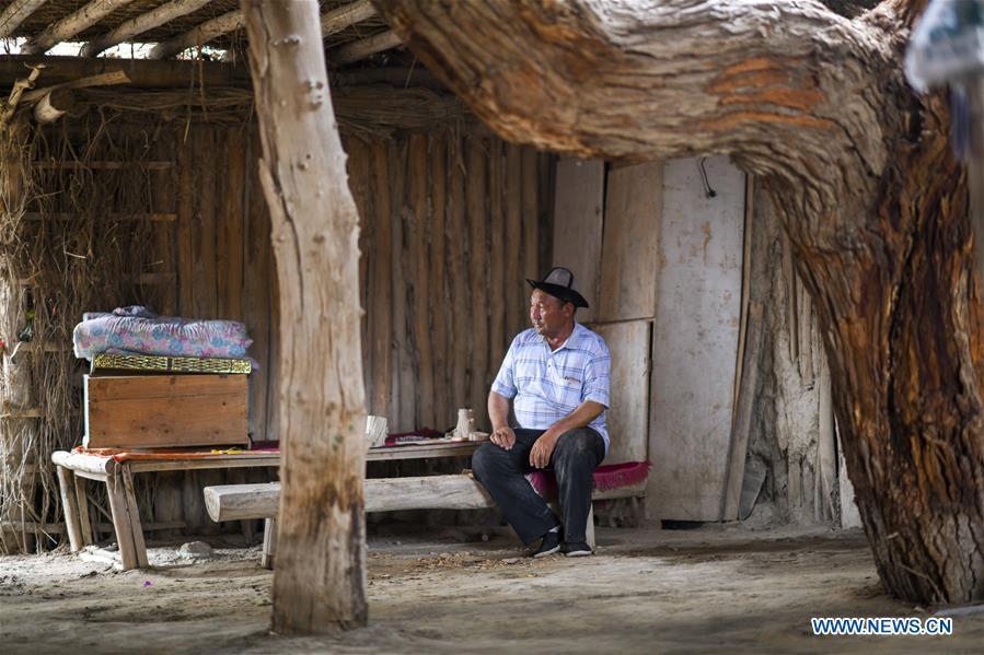 CHINA-XINJIANG-YULI-LOP NUR PEOPLE-TOURISM (CN)