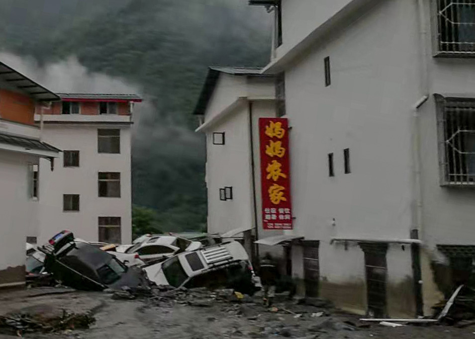 Latest: 8 people dead, 26 missing as rain batters southwest China - Xinhua | English.news.cn