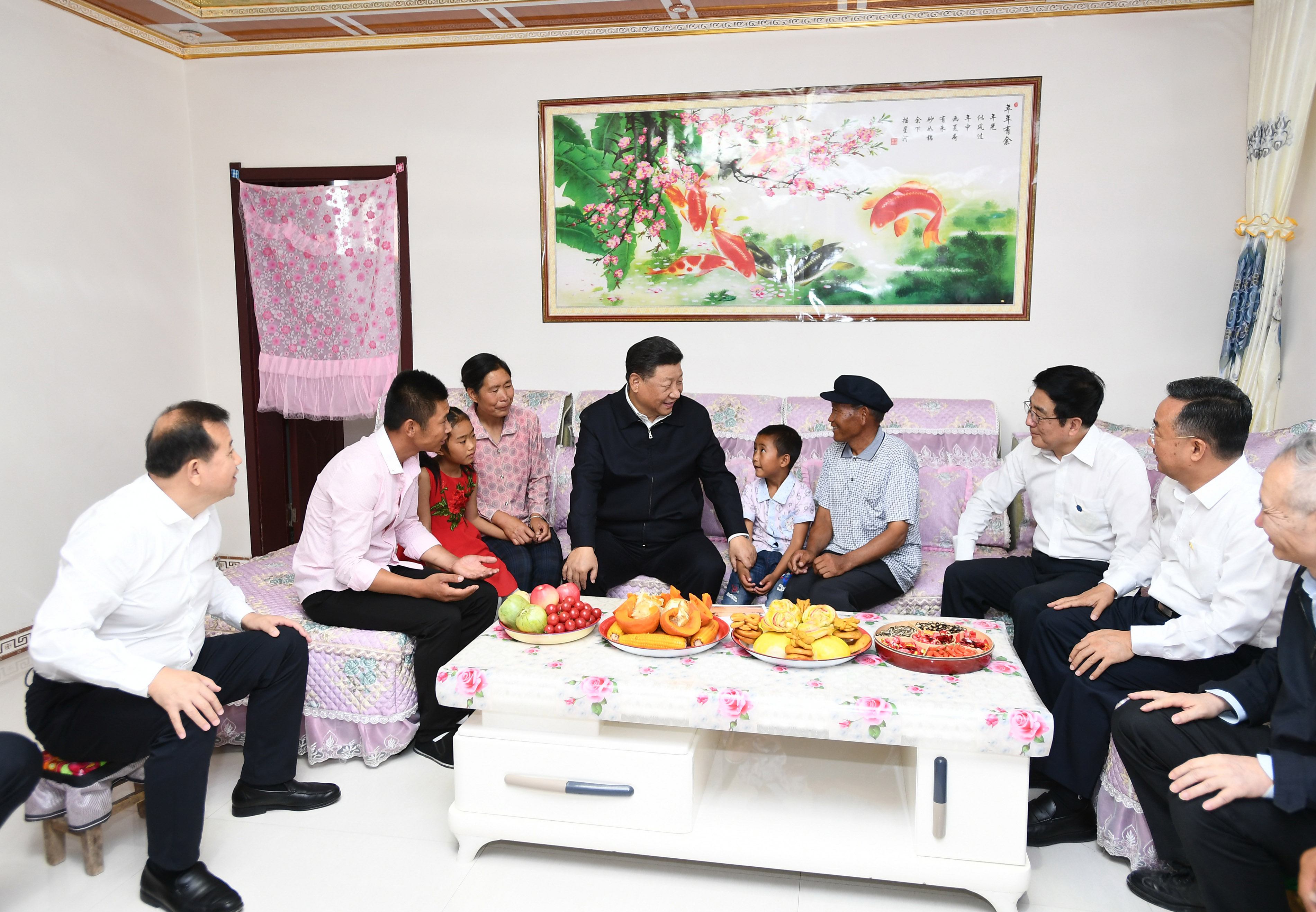 Happiness of people is what CPC pursues: Xi - Xinhua   English.news.cn