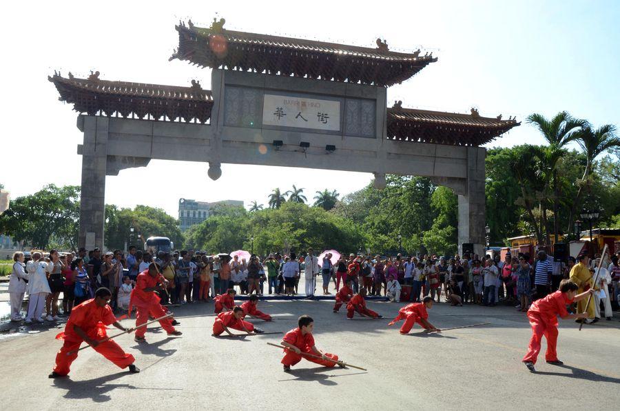 Feature: Havana celebrates renovated Chinatown - Xinhua | English.news.cn