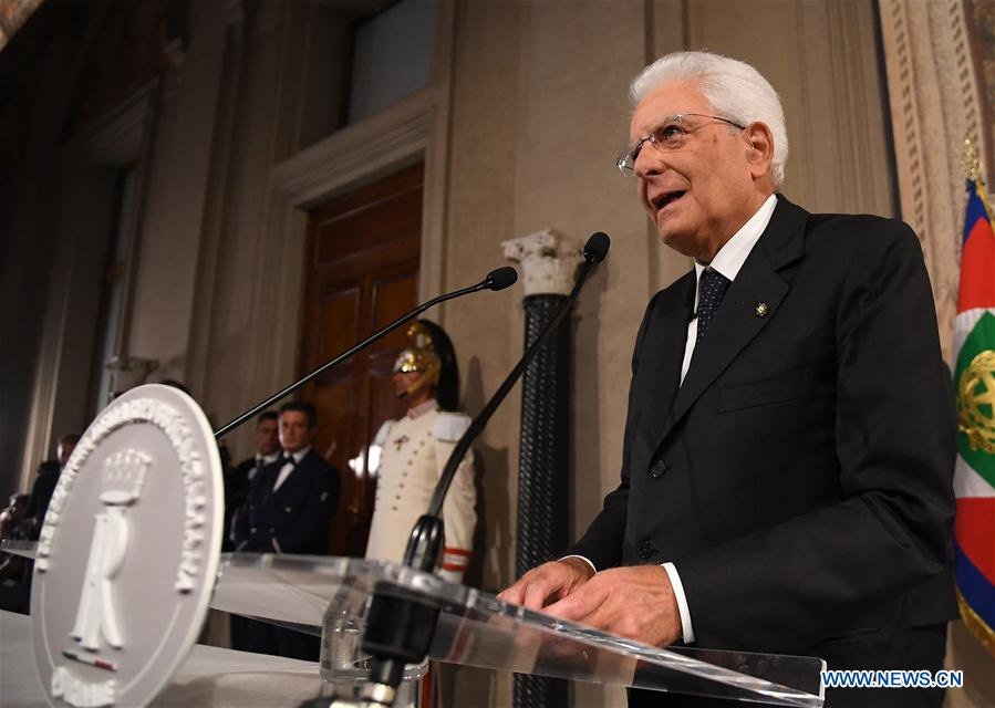 ITALY-ROME-PRESIDENT-POLITICAL PARTIES-TALKS