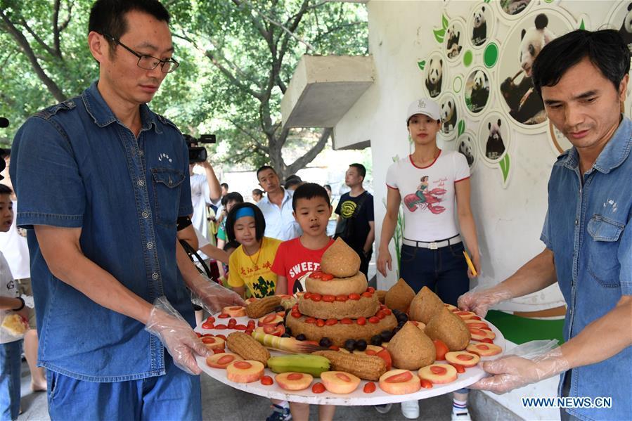 中国 - 重庆 - 最古老的熊猫生日(CN)