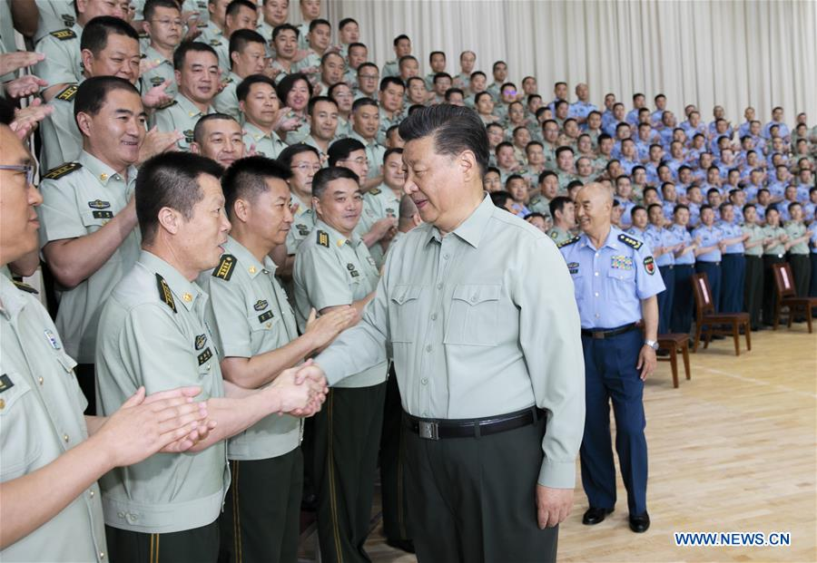 Xi urges Chinese air force to enhance capability to win