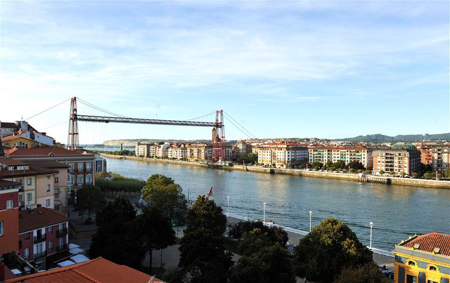 SPAIN-BASQUE-BISCAY-BRIDGE