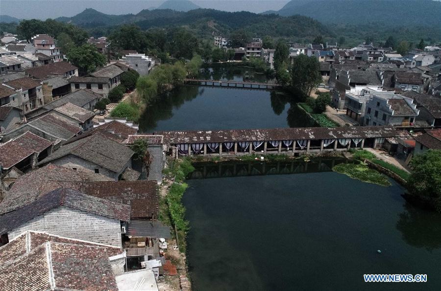 CHINA-JIANGXI-ANCIENT VILLAGE-SCENERY (CN)