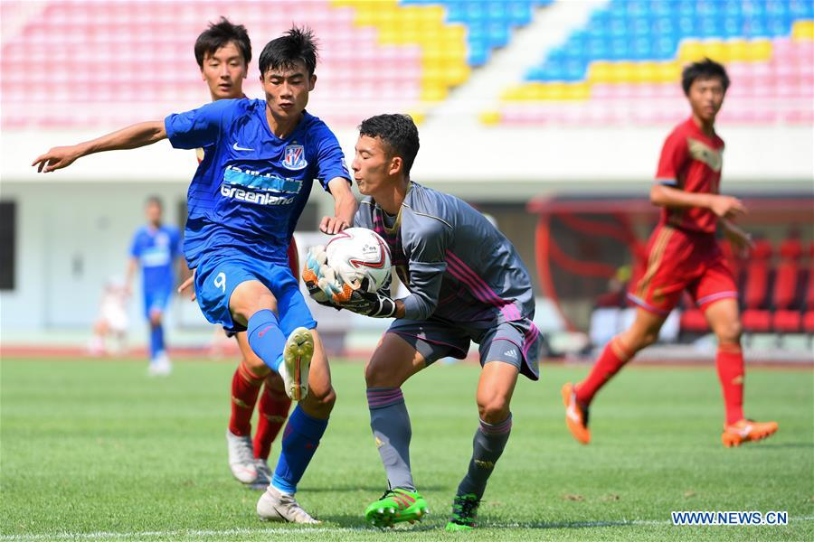(SP)CHINA-CHANGSHA-SOCCER-JUNIOR SPORTS EXCHANGE MEET (CN)