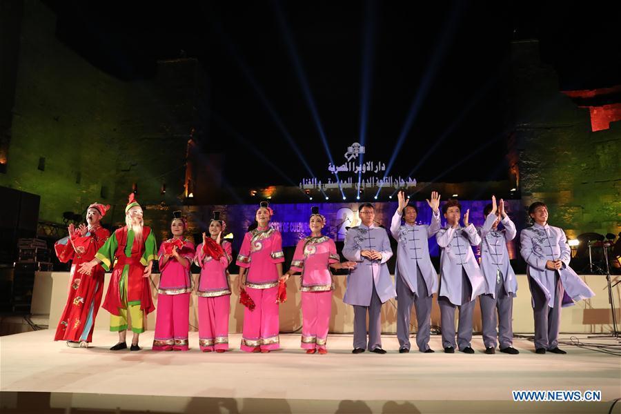 EGYPT-CAIRO-MUSIC FESTIVAL-CHINA'S GAOJIA OPERA PERFORMANCE
