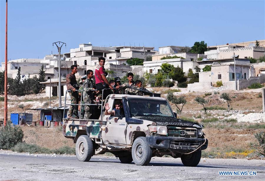 SYRIA-HAMA-IDLIB-FREED AREAS